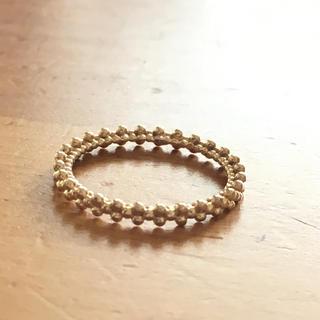 アガット(agete)のagete バブルリング ピンキー(リング(指輪))