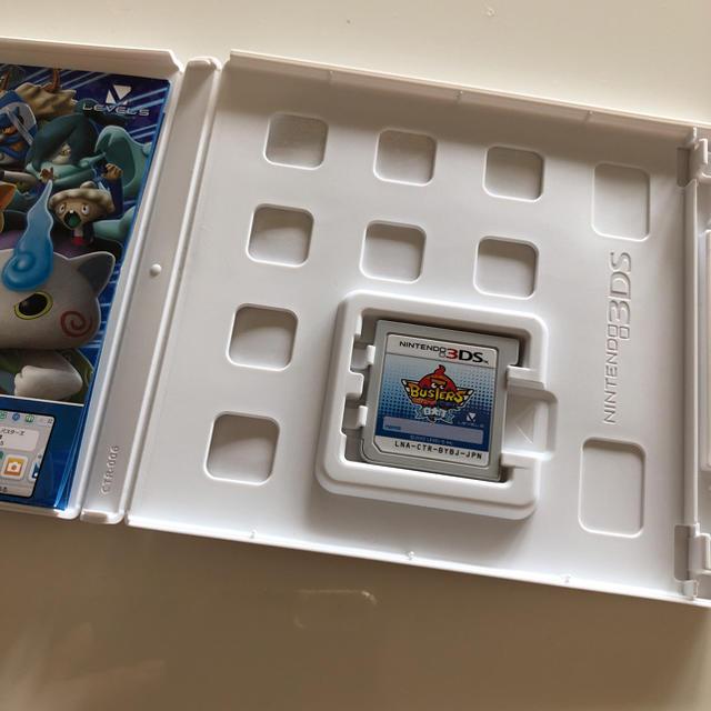 ニンテンドー3DS(ニンテンドー3DS)の妖怪ウォッチ バスターズ 白犬隊 エンタメ/ホビーのゲームソフト/ゲーム機本体(家庭用ゲームソフト)の商品写真