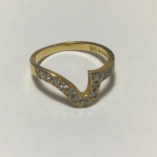 ウォルサム(Waltham)の❤︎ウォルサム❤︎WALTHAM❤︎高級ブランドダイアモンドリング(リング(指輪))