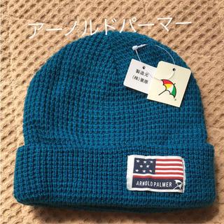 アーノルドパーマー(Arnold Palmer)の☆新品・未使用‼️アーノルドパーマー ニット帽  キッズ☆(帽子)