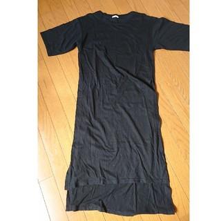 ジーユー(GU)のGU スリットTシャツ(Tシャツ(半袖/袖なし))