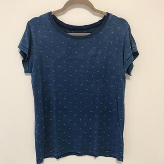 カレントエリオット(Current Elliott)のcurrent eliot ブルー星Tシャツ  ニーマンマーカス 購入(Tシャツ(半袖/袖なし))