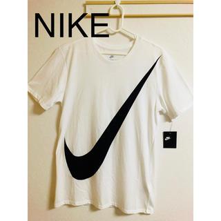 ナイキ(NIKE)の値下げ!新品未使用タグ付き! NIKE ビックロゴ スウォッシュTシャツMサイズ(Tシャツ/カットソー(半袖/袖なし))
