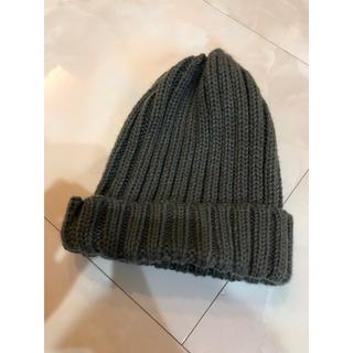 ジーユー(GU)のGU キッズ ニット帽 美品(帽子)