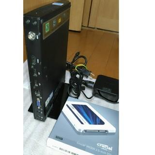 エイスース(ASUS)のNUC超小型PC/Celeron 847/Win10/SSD525GB★訳有品★(デスクトップ型PC)