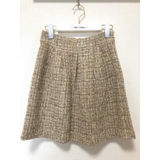 チェスティ(Chesty)の美品♡ツイードスカート(ひざ丈スカート)