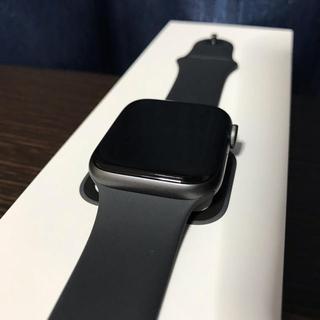 アップル(Apple)の9/21発売【新型Cellular】Apple Watch series4 (腕時計(デジタル))