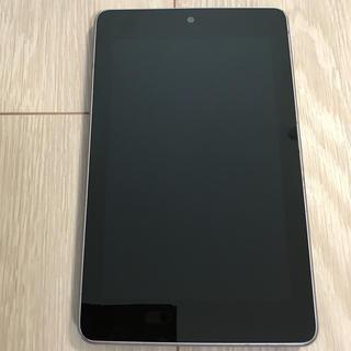 エイスース(ASUS)のNexus 7 ME370T ASUS 7インチ液晶/Wi-Fiモデル/16GB(タブレット)