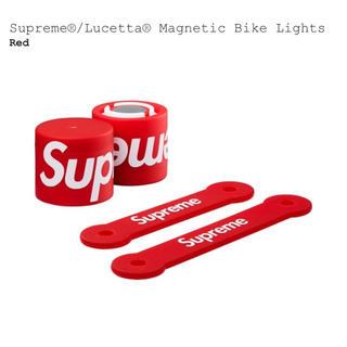 シュプリーム(Supreme)のsupreme lucetta magnetic bike lights 赤(その他)