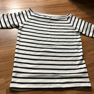 ジーユー(GU)のGU ボーダーカットソー Tシャツ(カットソー(半袖/袖なし))