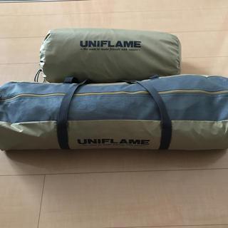 ユニフレーム(UNIFLAME)のユニフレーム REVOタープL + REVOフラップ(テント/タープ)