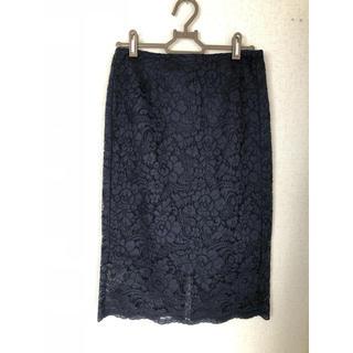 ジーユー(GU)のGU♡レースタイトスカート新品(ひざ丈スカート)
