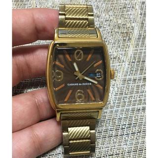 カバンドズッカ(CABANE de ZUCCa)のカバンドズッカ 腕時計 〈希少〉ゼロリセット ゴールドCABANEdeZUCCa(腕時計)