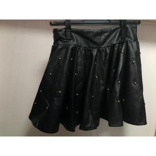 アナップ(ANAP)のレザースカート(スカート)