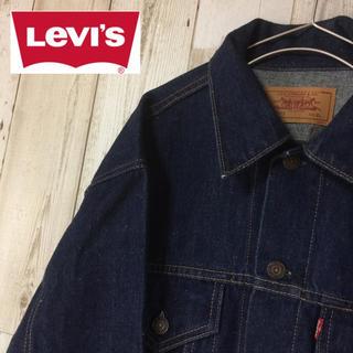 リーバイス(Levi's)の濃紺 美品 リーバイス Levis 70505 デニムジャケット サイズXL(Gジャン/デニムジャケット)