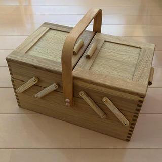 倉敷意匠 ソーイングボックス 裁縫箱