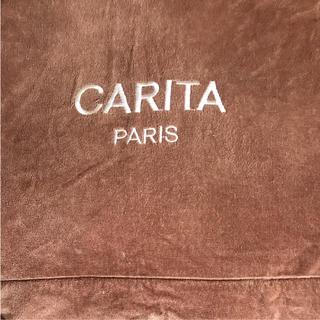 カリタ(CARITA)の美品  カリタ エステベッド 大タオルケット  ブランケット 高級タオルケット(タオル/バス用品)