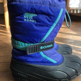 ソレル(SOREL)のSORELスノーブーツ22cm(ブーツ)