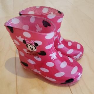 ディズニー(Disney)のDisney ミニーちゃん ベビー キッズ 長靴 レインブーツ 13cm(長靴/レインシューズ)
