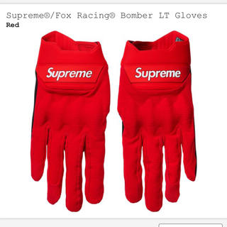 シュプリーム(Supreme)のSupreme Fox Racing Bomber LT Gloves(手袋)