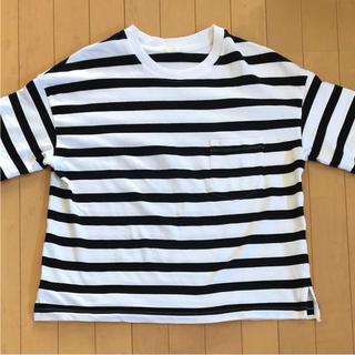 ジーユー(GU)のボーダーTシャツ(GU)(Tシャツ(半袖/袖なし))