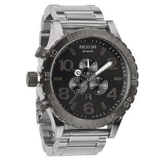 ニクソン(NIXON)のNIXON ニクソン SILVER/GUNMETAL メンズ A083-1762(腕時計(アナログ))