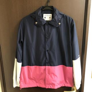ジーユー(GU)のGU×KIM JONES カラーブロックジャケット サイズ S(ナイロンジャケット)
