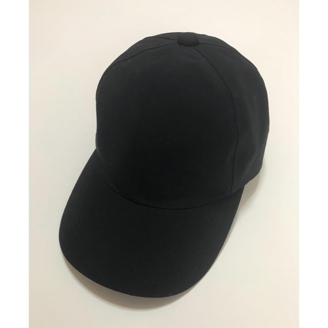 MUJI (無印良品)(ムジルシリョウヒン)の無地良品 キャップ ネイビー レディースの帽子(キャップ)の商品写真