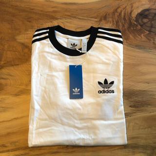 アディダス(adidas)の【Mサイズ】新品未使用 adidas★ カリフォルニアTシャツ ユニセックス 白(Tシャツ/カットソー(半袖/袖なし))