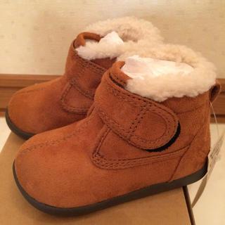 ムジルシリョウヒン(MUJI (無印良品))の新品タグ付き 無印良品 ボアハイカット ブーツ 13cm(ブーツ)
