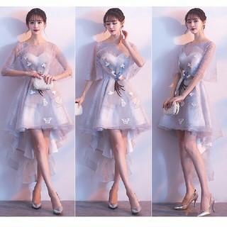 即購入ok ミニドレス ミモレ丈 膝丈ドレス パーティードレス ワンピース(ミディアムドレス)