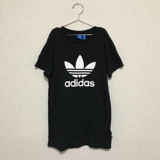 アディダス(adidas)のadidas ワンピースTシャツ ティードレス S(ミニワンピース)