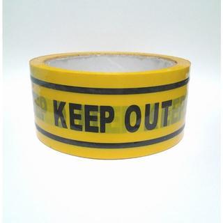 【KEEP OUT】 テープ キープアウト ハロウィン コスプレ 場所取り(アクセサリー)