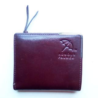 アーノルドパーマー(Arnold Palmer)のアーノルドパーマー 2つ折り財布 イタリアンレザー ブラウン(折り財布)