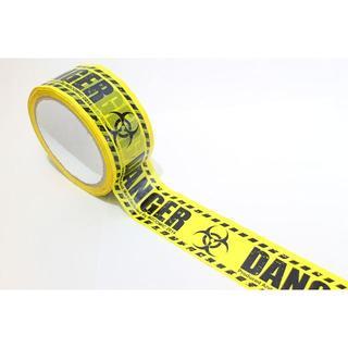 【DANGER】バリケードテープ 立入禁止! コスプレ ハロウィン(小道具)