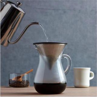 ムジルシリョウヒン(MUJI (無印良品))のSLOW coffee:ドリップ用コーヒーポット(食器)