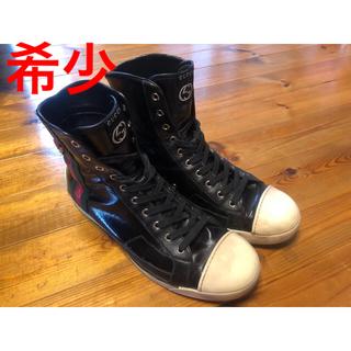 グッチ(Gucci)のGUCCI ハイカット スニーカー(ブーツ)