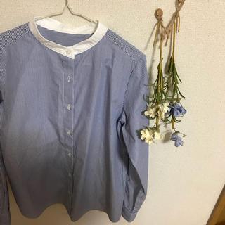 ジーユー(GU)のストライプシャツ..(シャツ/ブラウス(長袖/七分))