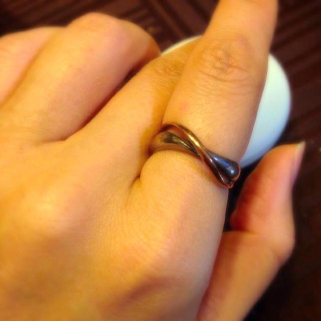 4℃(ヨンドシー)の4℃ GOLD×Silverコンビリング レディースのアクセサリー(リング(指輪))の商品写真