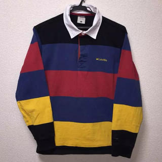 コロンビア(Columbia)のColumbia コロンビア ラガーシャツ 長袖ポロシャツ (ポロシャツ)