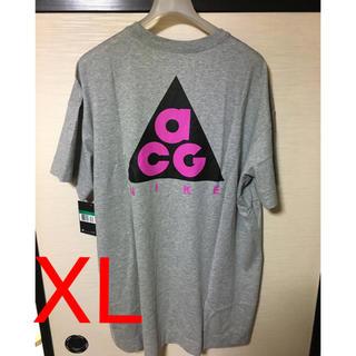 ナイキ(NIKE)の新品 nike acg tシャツ XL グレー(Tシャツ/カットソー(半袖/袖なし))