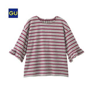 ジーユー(GU)の★gu❤️袖フリル❤️130(Tシャツ/カットソー)