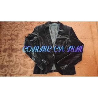 コムサイズム(COMME CA ISM)のコムサイズム ジャケット ブラック(テーラードジャケット)