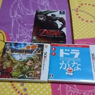 ニンテンドウ(任天堂)のゲームソフト まとめ売り(携帯用ゲームソフト)