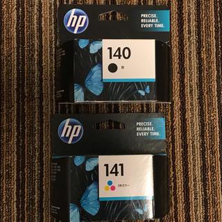 ヒューレットパッカード(HP)のプリンタインク  hp140 hp141 各1点(その他)