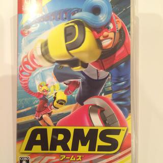 ニンテンドウ(任天堂)の任天堂スイッチソフト ARMSアームズ(家庭用ゲームソフト)