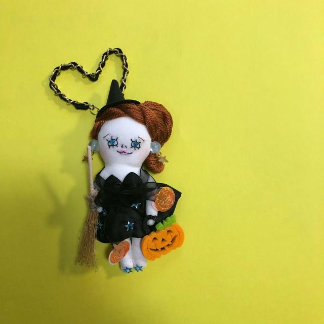 nanachan様専用 ドールチャーム ハンドメイドのファッション小物(バッグチャーム)の商品写真