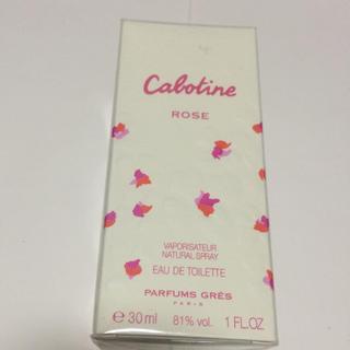 グレカボティーヌ(GRES CABOTINE)のカボティーヌ ローズ オードトワレ 30ミリ 新品(香水(女性用))