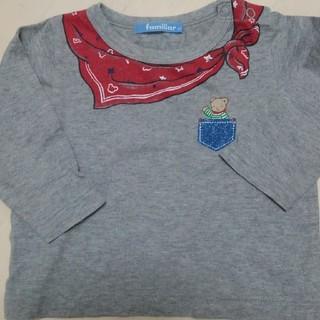 familiar - ファミリア Tシャツ 長袖 80サイズ