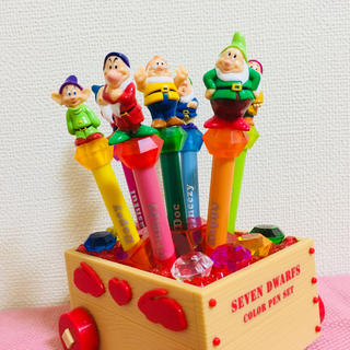 ディズニー(Disney)の七人の小人ペンセット(ペン/マーカー)